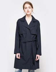 Objects Without Meaning Soft Trench Navy