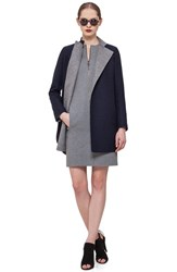 Women's Akris Punto Reversible Double Face Wool Coat