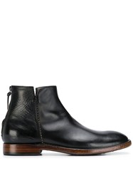 Silvano Sassetti Zipped Boot Black