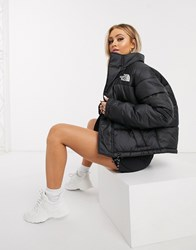 The North Face Synth City Puffer Jacket In Black
