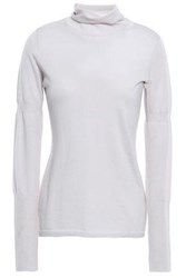 Duffy Woman Cashmere And Silk Blend Turtleneck Sweater Pastel Pink