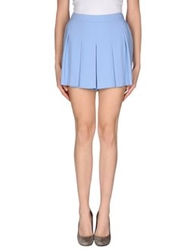 Tara Jarmon Mini Skirts Sky Blue