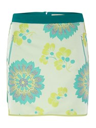Pennyblack Size Zip Printed Skirt Multi Coloured