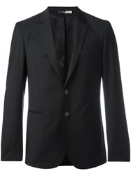 Paul Smith Ps By Button Up Classic Blazer Black