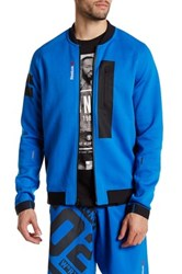 Reebok Zip Up Logo Jacket Blue