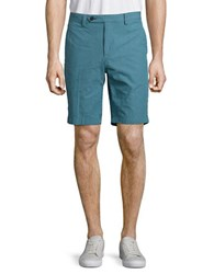 Brooks Brothers Seersucker Shorts Blue