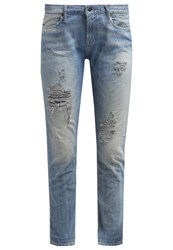 Polo Ralph Lauren Astor Slim Fit Jeans Dennison Light Blue