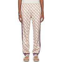 Gucci Off White Interlocking G Print Lounge Pants
