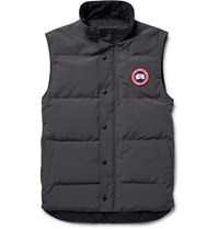 Canada Goose Garson Quilted Shell Down Gilet Dark Gray