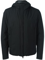 Herno Hooded Jacket Black