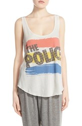 Women's Lauren Moshi 'Parson' Graphic Cotton Tank