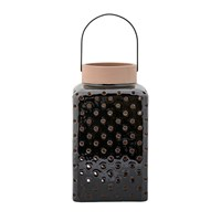 Bloomingville Ceramic Lantern Black