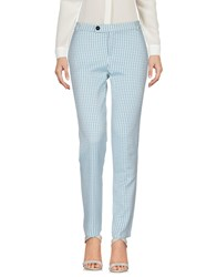 Caractere Casual Pants Turquoise