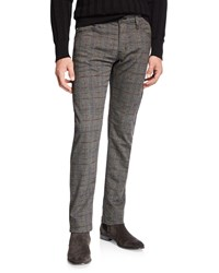 Ag Adriano Goldschmied Tellis Plaid Twill Pants Multi