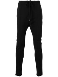 The Viridi Anne Slim Fit Trousers Black