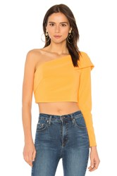 Finders Keepers Tribute Top Orange