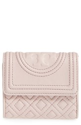 Tory Burch Women's 'Mini Fleming' Quilted Lambskin Leather Wallet