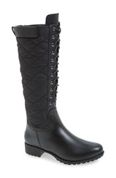 Dav Women's 'Tofino' Quilted Tall Waterproof Rain Boot