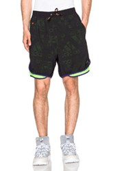 Kolor X Adidas Woven Shorts In Black