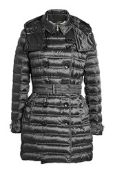 Burberry London Down Filled Coat With Belt