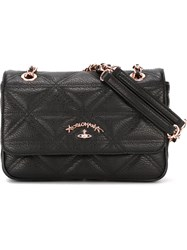 Vivienne Westwood 'Sharlenemania' Chain Strap Flap Bag Black