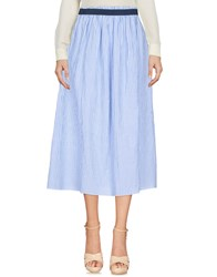 Leon And Harper 3 4 Length Skirts Sky Blue