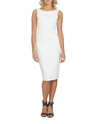 1.State At Leisure Sleeveless Bodycon Dress New Ivory