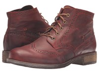 Josef Seibel Sienna 15 Wine Women's Lace Up Boots Burgundy