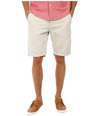 7 For All Mankind Chino Shorts White Sand Men's Shorts