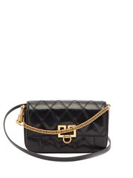 Givenchy Gv3 Mini Leather Cross Body Bag Black