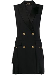 Versace Double Breasted Pleated Waistcoat 60