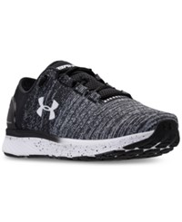 Under Armour Women's Charged Bandit 3 Running Sneakers From Finish Line Black White White