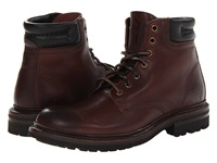 Frye Freemont Lace Up Dark Brown Essex Men's Lace Up Boots Burgundy