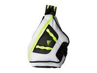 Adidas Capital Sling Neo White Solar Yellow Sling Handbags Black