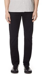 7 For All Mankind Straight Clean Trousers Deep Sea