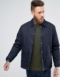 Edwin Denim Coach Jacket Deep Blue Navy