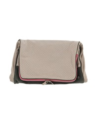 Manila Grace Denim Handbags Beige