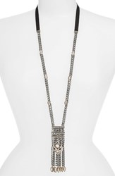Jenny Packham Women's Long Chain Pendant Necklace