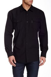 Ecko Unlimited Intrige Long Sleeve Regular Fit Shirt Black