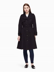 Kate Spade Classic Trench Coat Black