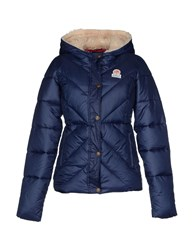 Franklin And Marshall Coats And Jackets Jackets Women Dark Blue