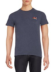 Superdry Orange Label Tee Midnight
