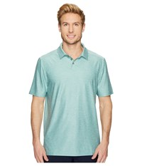 Skechers Go Golf Pine Valley Polo Sage Men's Clothing Green