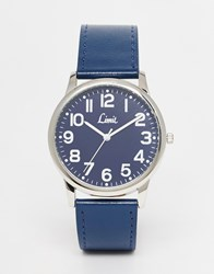Limit Watch In Navy Blue