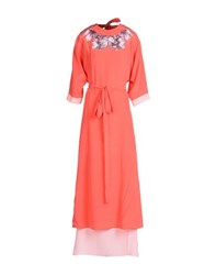 Who S Who Dresses Long Dresses Women Coral