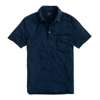 J.Crew Tall Broken In Pocket Polo Navy