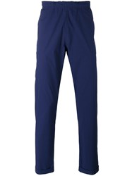 Paul Smith Ps By Elastic Waistband Chinos Men Cotton 30 Blue