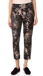 Alice Olivia Stacey Ankle Trousers Multi