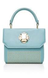 Elie Saab Nano Top Handle Bag Blue