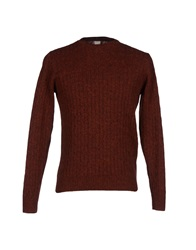 Grp Sweaters Brick Red
